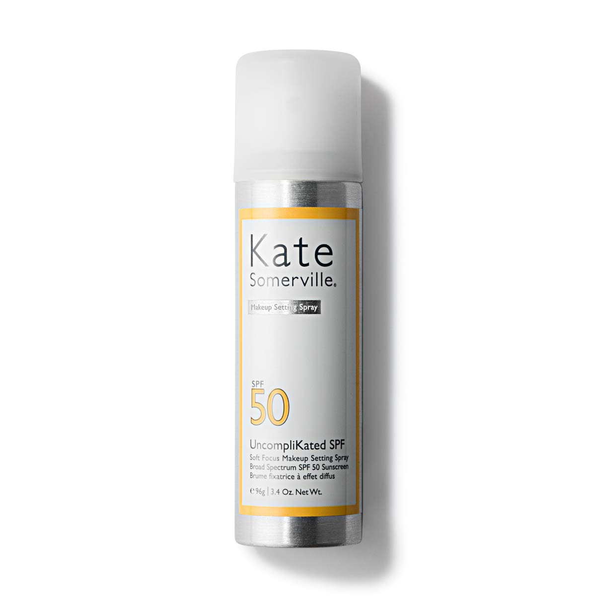 Kate Somerville UncompliKated SPF 50 Soft Focus Makeup Setting Spray - Setting Spray and Face Sunscreen (3.4 Fl. Oz.)
