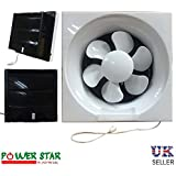 Bathroom Ventilation Extractor Exhaust Pull Cord Fan Powerful Low Noise Kitchen Fans