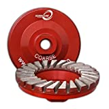 4'' Hurricane Diamond Cup Wheel (Fine (100/120 Grit))