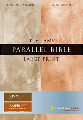 KJV/Amplified Parallel Bible, Large Print (King James
