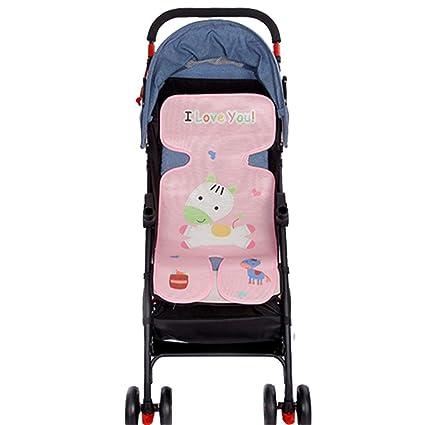 Colchoneta para silla de paseo Venero,73 * 33 cm Cojín Animales Fresco de Asiento de carrito de niño,Seda del Hielo del Amortiguador de la Silla ...