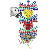 Bonka Bird Toys 1042 Duo Foraging Heart Bird Toy parrot cage toys cockatiel african grey conure