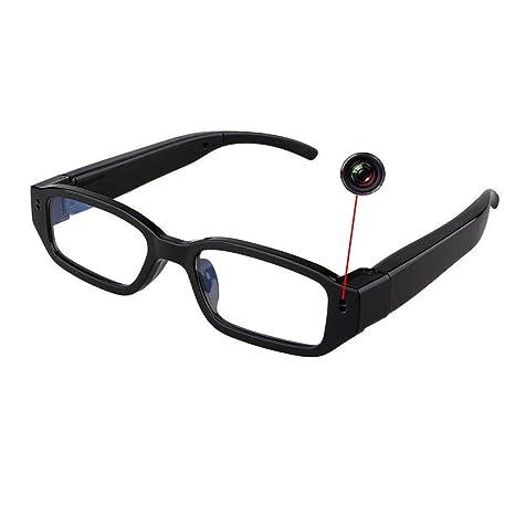 Amazon.com: Cámara oculta para gafas HD 1080P cámara espía ...