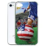 Gift Trenz Kangaroo Lab 3D Soccer iPhone 4/4s Case - Retail Packaging - Multicolor