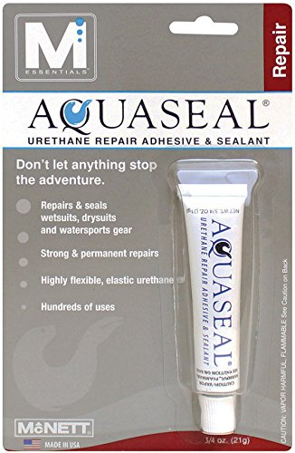 M Essentials Aquaseal Urethane Repair Adhesive and Sealant 3/4 - Wetsuit Shop Repair