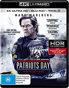 Patriots Day  (4K Ultra HD + Blu-ray)