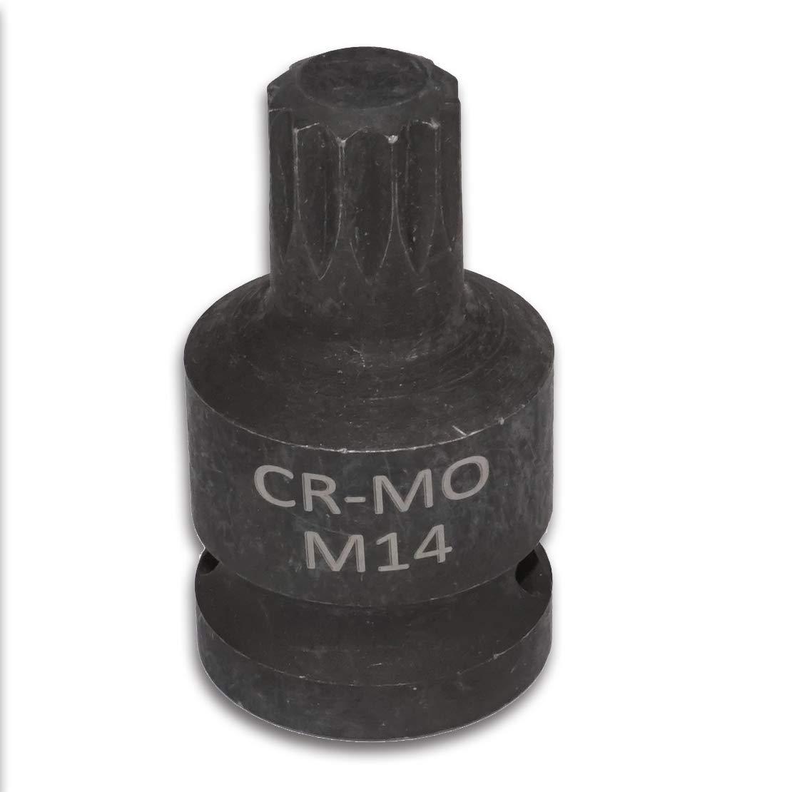 beler 1//2 pouce 14mm M14 12pt Triple /Étrier Arri/ère Carr/é Retrait Outil