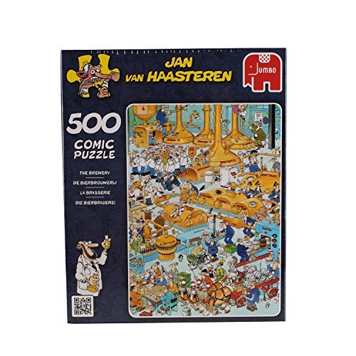 Jan van Haasteren - The Brewery Jigsaw Puzzle (500 Piece) by Jumbo Games