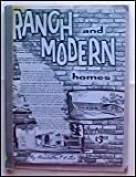 img - for Ranch and Modern Homes book / textbook / text book