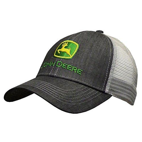 John Deere Dark Denim Style Mesh Back Hat (John Deere Tall)