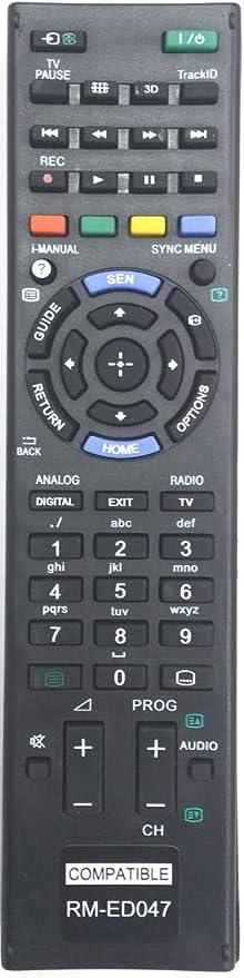 Sony - Mando a Distancia para televisor Bravia RM-ED047: Amazon.es: Electrónica