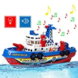 remote control boat gas - Okk Toys 1:28 High Speed Marine Rescue Fire Remote Control RC 9