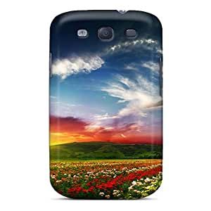 lintao diy New Arrival Case Specially Design For Galaxy S3 (colorful Sunset)