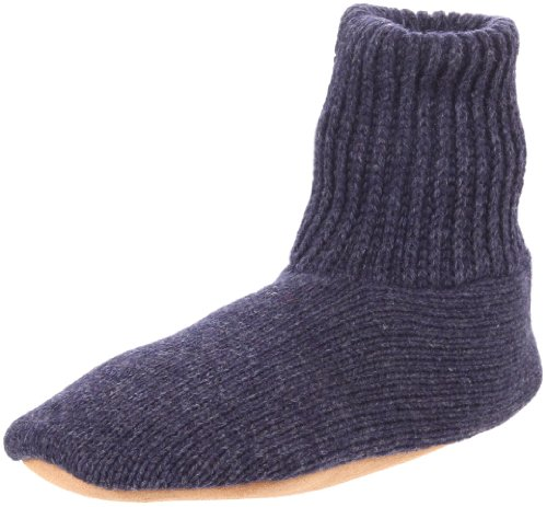 (MUK LUKS Men's Morty Slipper,Navy,Medium(8.5-9.5))