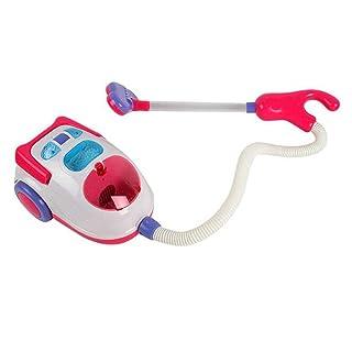 Bella Mini giocattolo modello di aspirapolvere giocattolo per bambini elettronico 18 * 10 CM-rosa