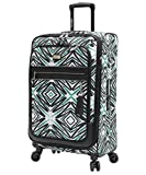 Steve Madden Tribal Luggage 25'' Expandable Suitcase With Spinner Wheels