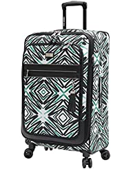 Steve Madden Tribal Luggage Large 29 Expandable Suitcase With Spinner Wheels