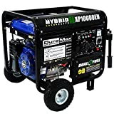 10000 watt portable generator - DuroMax XP10000EH 10000 Watt Dual Fuel Hybrid Generator W Elec. Start 50-State