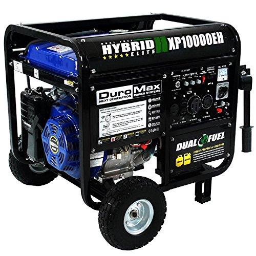 DuroMax XP10000EH 10000 Watt Dual Fuel...