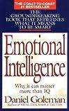 Emotional Intelligence, Daniel Goleman, 0553375067