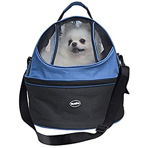 Small Dog Pet Carrier Soft Sided Carrying Bag for Cat Teacup Puppy up to 12 lb