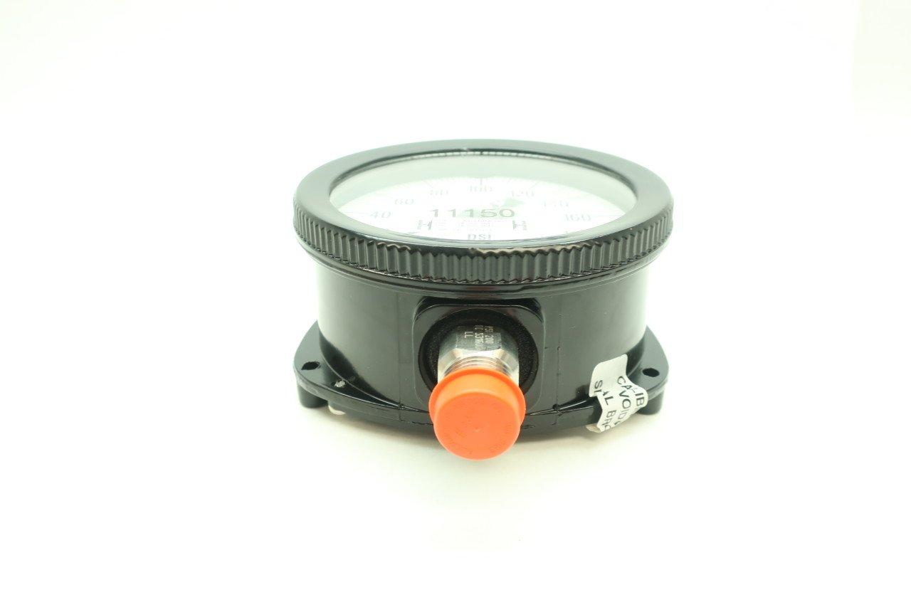 AMETEK 150225X USG Pressure Gauge 0-200PSI 4-1/2IN 1/2IN NPT D613900: Amazon.com: Industrial & Scientific