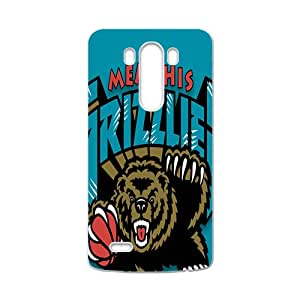 Memphis Grizzlies NBA White Phone Case for LG G3 Case