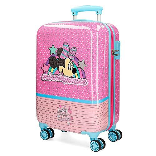 Hartschalenkabinenkoffer 55 cm Minnie Pink Vibes