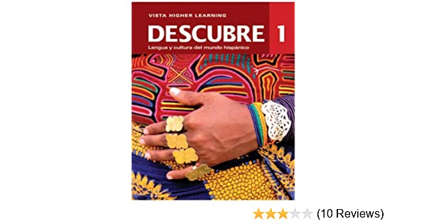 Descubre 1 student edition w supersite code and vtext 2014 descubre 1 student edition w supersite code and vtext 2014 edition vista higher learning 9781618574794 amazon books fandeluxe Images