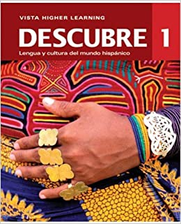Descubre 1 student edition w supersite code and vtext 2014 descubre 1 student edition w supersite code and vtext 2014 edition vista higher learning 9781618574794 amazon books fandeluxe Image collections