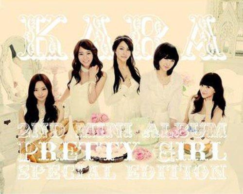 CD : Kara - Pretty Girl (Asia - Import)