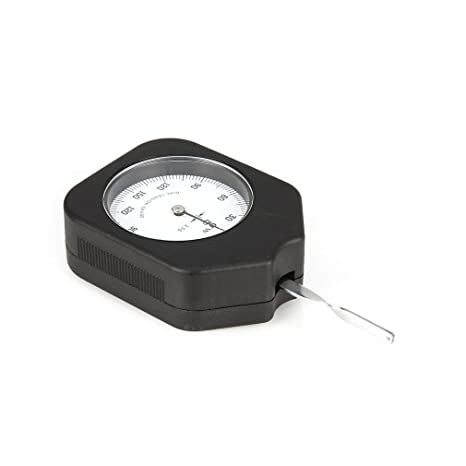 Sunnyday Tensiómetro analógico de 150 g. Indicador del medidor de tensión. Probador Dinamómetro tabular