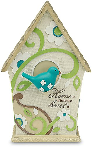 Paisley Angel (Perfectly Paisley Home Decorative Birdhouse, Inscription Home Is Where The Heart Is)