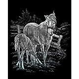 Bulk Buy: Royal Brush Silver Foil Engraving Art Kit 8''X10'' Mare & Foal SILF-15 (3-Pack)