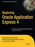 Beginning Oracle Application Express 4 Front Cover