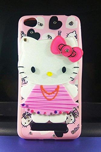 huge selection of 6c4fe e0b76 Aarnik Cute Makeup Mirror Soft Kitty Back Cover for Xiaomi Redmi 4A / Redmi  4A - { Multi Colour }