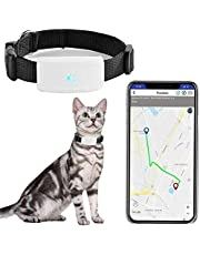 Zeerkeers Dog GPS Tracker, Real-time Pet GPS Tracker Activity Monitor with SOS Alarm, Waterproof Tracking Collar for Dogs, and Cats, APP Control