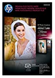 HP Premium Plus Photo Paper, High Gloss (60 Sheets, 4 x 6 Inches with Tab)
