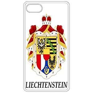 Liechtenstein - Coat Of Arms Flag Emblem White Apple Iphone 5 Cell Phone Case - Cover