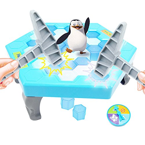 KIDSFUN Penguin Trap Ice breaker Kids Puzzle Table