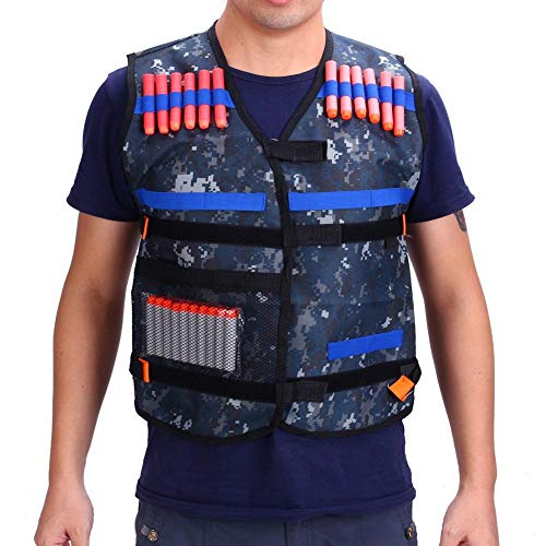RubyShopUU Knifun Adjustable Tactical Vest for N-Strike Elite Kids Toy Knifun Adjustable Tactical Vest for N-Strike Elite Kids Toy