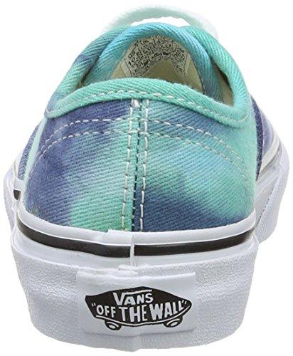 Vans AUTHENTIC - zapatilla deportiva de lona infantil multicolor - Mehrfarbig ((Tie Dye) navy/ FPZ)
