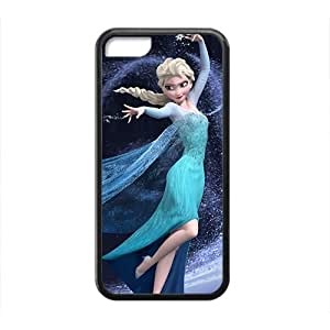 LINMM58281SVF Attractive Disney Frozen Elsa Design Best Seller High Quality Phone Case For iphone 5/5sMEIMEI