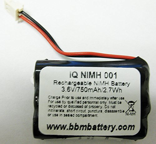 IQ NIMH-001 Optex iVision Wireless Intercom battery replacement VD-8810, H-AAAj3