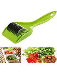 LtrottedJ Creative Parsley Chopper Kitchen Cut Onion Garlic Vegetable Planing