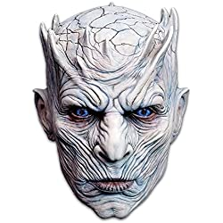 Trick or Treat Studios Men's Game of Thrones-Night's King, White Walker Men's Full Head Mask, Multi, One Size