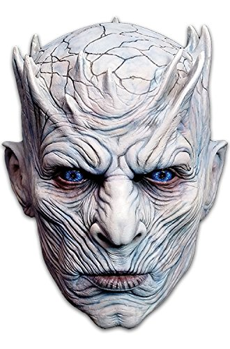 Trick or Treat Studios Men's Game of Thrones-Night's King, White Walker Men's Full Head Mask, Multi, One -