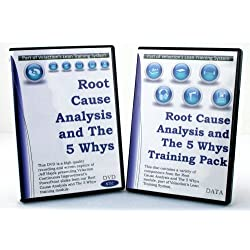 Root Cause Analysis and the 5 Whys Lean Training Extended Pack (DVD, PPT, Student Guide, and More)