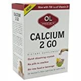 Olympian Labs Calcium 2 Go - 30 Packets (5 Pack)