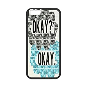 """John--The Fault in Our Stars Awesone Durable PC Case Cover For Apple Iphone 6,4.7"""" screen Cases TPUKO-Q810015"""